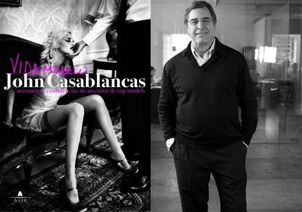Livro Vida Modelo Biografia John Casablancas Bem Conservado