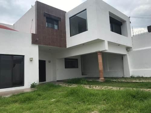 Casa Nueva En Zona Norte De Cuernavaca, Fraccionamiento Lomas Del Sol