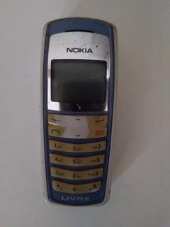 Celular Nokia 2112 Liga E Funciona... Desmanche De Peças