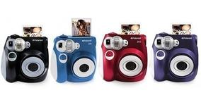 Câmera Polaroid Pic300 Instant Preta Vermelha Instantânea