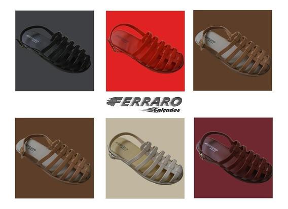Kit 10 Sandalia Rasteirinha Gladiador