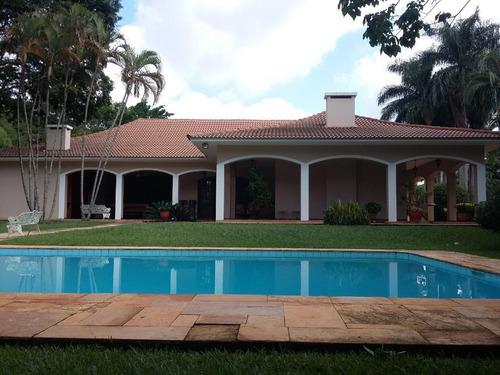 Casa Com 6 Dormitórios À Venda, 700 M² Por R$ 5.000.000,00 - Condomínio Village Sans Souci - Valinhos/sp - Ca2277