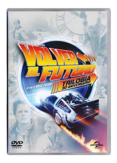 Volver Al Futuro Trilogia 30 Aniversario Back Future Dvd