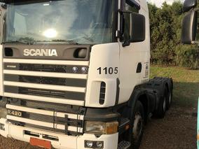 Scania R 124 420 6x4 Bug Leve Ano 2005 Freio Retarder Unicod