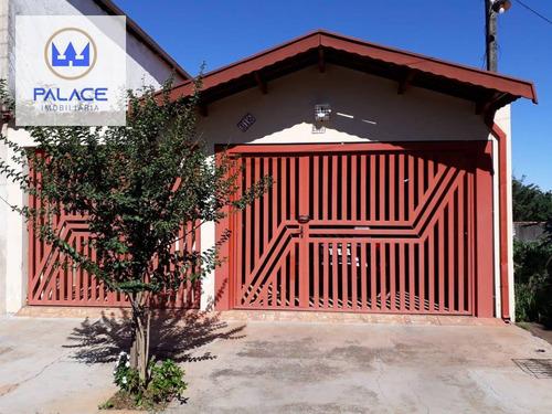 Imagem 1 de 12 de Casa Com 2 Dormitórios À Venda, 141 M² Por R$ 320.000,00 - Santa Rosa - Piracicaba/sp - Ca0517