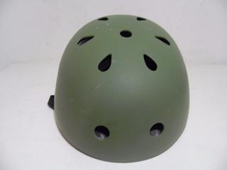 Casco Patines Patineta Ciclista 54-56cm Joven Bocina H185
