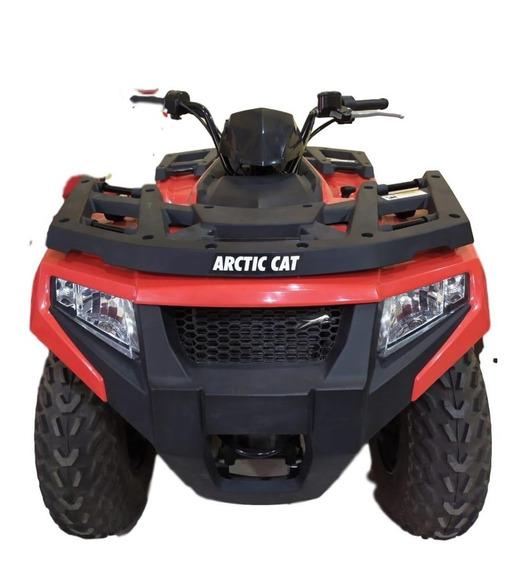 Cuatriciclo Arctic Cat 4x4 450-2018 Cómo Km! Artic Cat