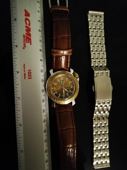 Reloj Mecánico Vostok Dolphin Junior (cadet), 34mm