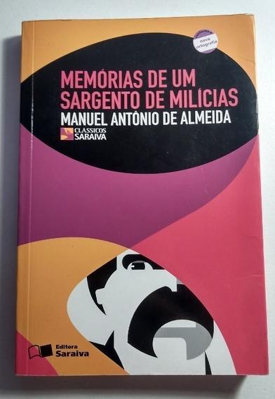Livro Memórias De Um Sargento De Milícia - Manuel Antonio De