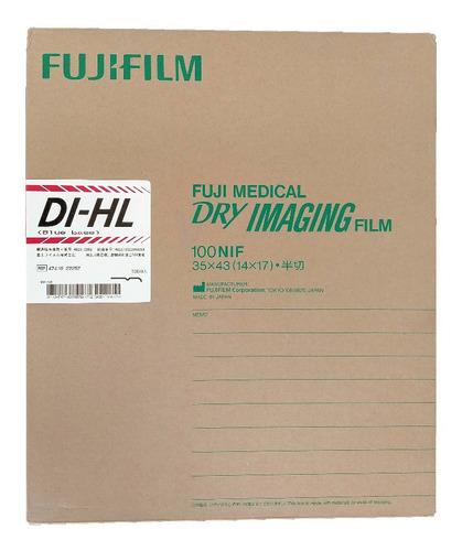 Imagen 1 de 1 de Pelicula Fuji 14x17 Dihl Laser Placas De Rayos X Rx 100 H