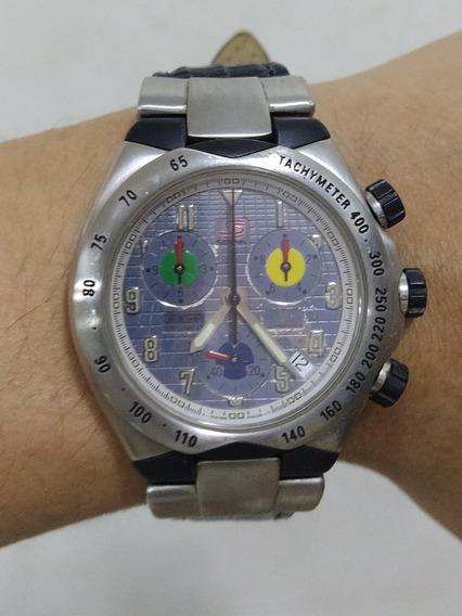 Relógio Original Universal Senna Cronografo Masculino
