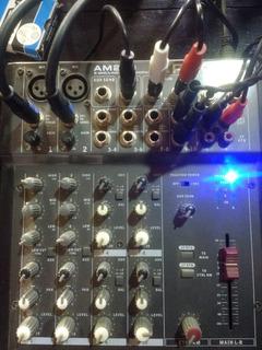 Consola Phonic Am240