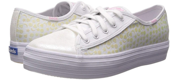 Tenis Keds Girls Triple Kick Fashion Sneakers Para Niña