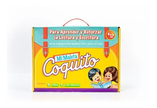Mi Maleta Coquito (caja De 6) - Paula Del Angel Store