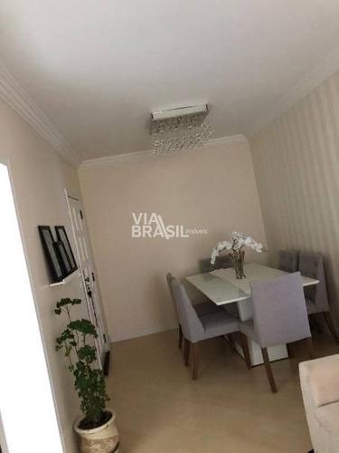 Imagem 1 de 19 de Apartamento Em Condomínio Padrão Para Venda No Bairro Santa Terezinha, 2 Dorm, 1 Vagas, 58 M - 650