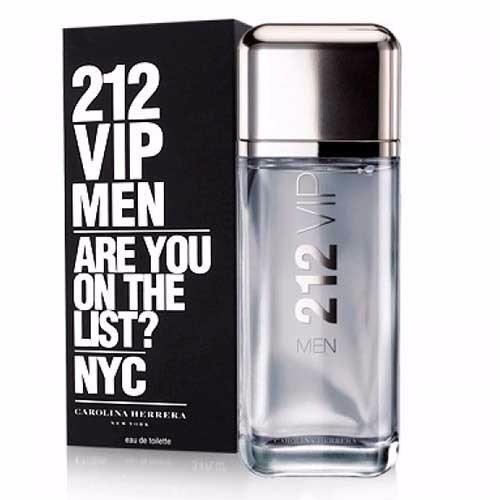 Perfume 212 Vip Men Carolina Herrera 200ml Envio Imediato