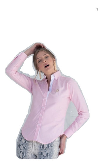 Camisa Muletta Dama Básica Rosa