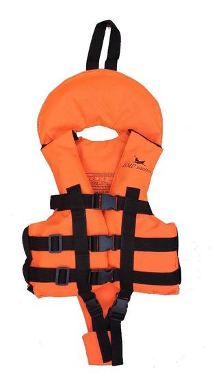 Chaleco Niños Tela Importada Fluor Ideal Kayaks Emp Nautica