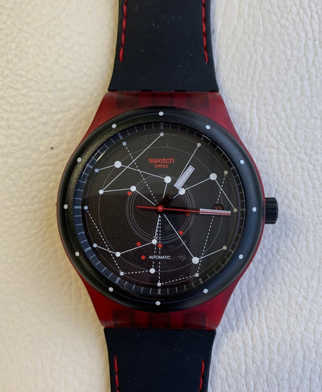 Relógio Swatchsystem 51 Red Sutr400