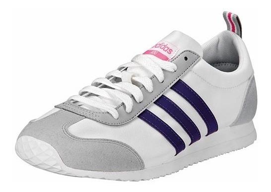Tenis adidas Vs Jog W Blanco Tallas Del #23½ A #26 Mujer Ppk