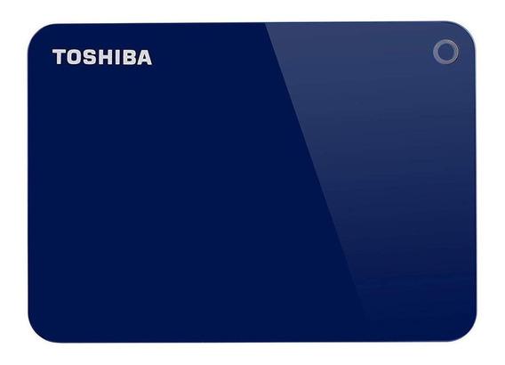 Disco rígido externo Toshiba Canvio Advance HDTC920X 2TB azul