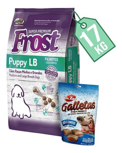 Comida Perro Frost Cachorro Razas Grandes 15 Kg + 2 Kg