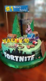 Torta Personalizada - Fortnite - Unicornio - Minions -cuotas