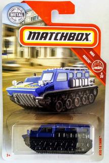 Rsq-18 Tank Matchbox Rescue 2019 Nuevo