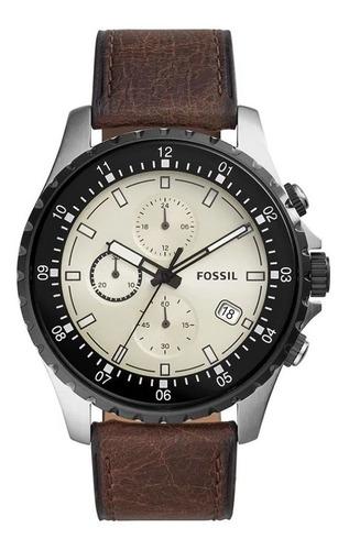 Relogio Fossil Dillinger Masculino Fs5674/0kn