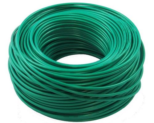Imagen 1 de 4 de Cable Elecon N° 12 Thw 75° C Solido Por 20 Metros /