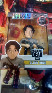 Glenn Rhee The Walking Dead Metals Die Cast - En Stock
