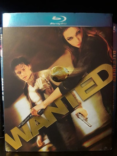 Wanted - Se Busca Blu-ray C/cover Importado