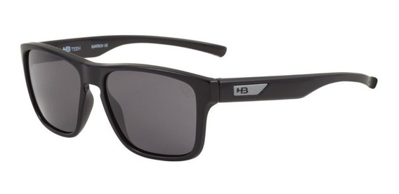 Oculos Sol Hb H Bomb Infantil Preto Fosco Cinza 9012400100
