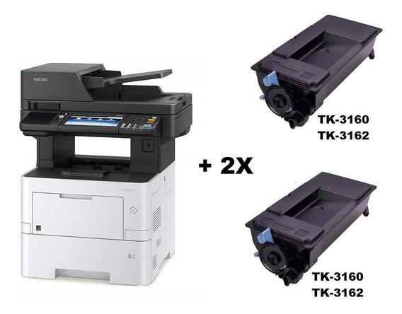 Impressora Kyocera Multifuncional M3145idn + 02 Toner Extra