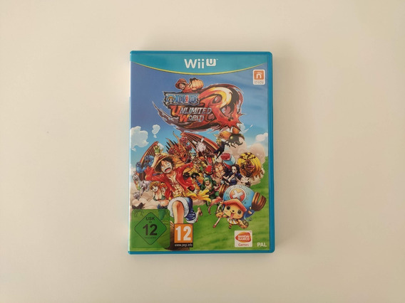 One Piece Unlimited World Red Europeu Nintendo Wii U Usado
