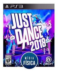 Jogo Just Dance 2018 - Ps3 - [ Mídia Física E Original ]