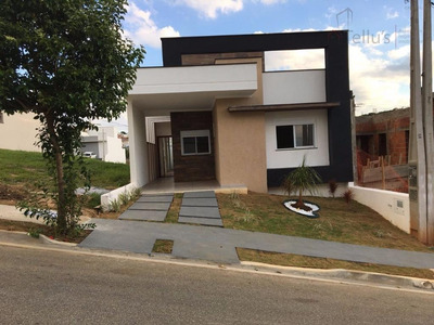 Excelente Casa Térrea À Venda, Condominio Golden Park Residence Ii, Sorocaba. - Ca0969