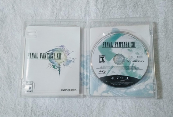 Final Fantasy Xiii Ps3 Midia Fisica Usado Perfeito