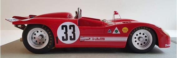 Miniatura Alfa Romeo T33/3 1971 Galli/stommelen - Esc. 1:18
