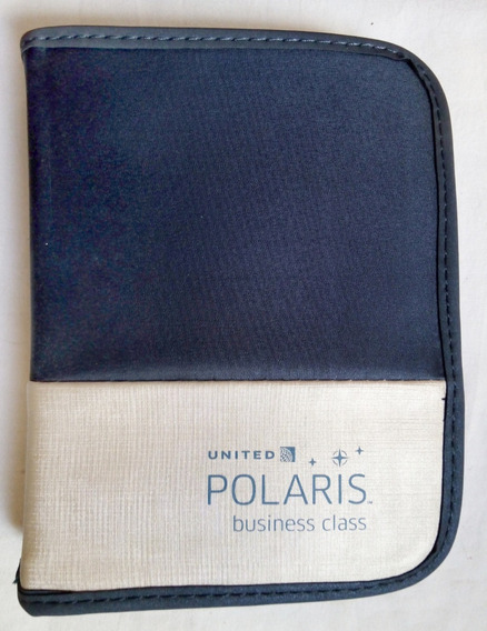 Estuche Neceser Organizador - United Polaris Business Class