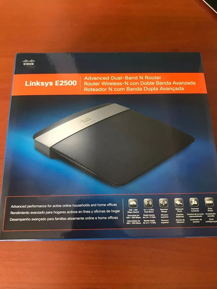 Router Cisco Linksys E2500 Dual Band 2.4/5ghz (n300+n300)