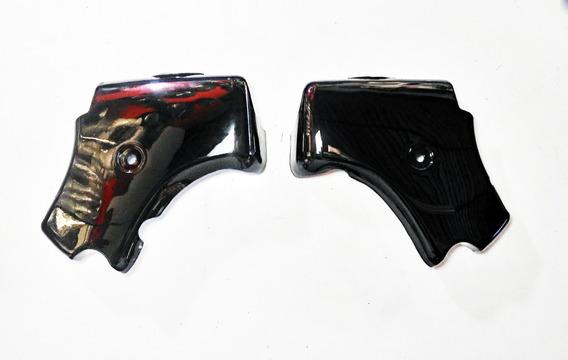 Acabamento Sup. Chassi (par) Preto Shineray Custom 250cc