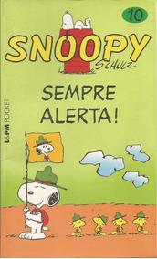 Livro Snoopy Vol. 10 Sempre Alerta! - Schulz