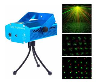 Efecto Iluminacion Dj Moonlight Ms001 Mini Laser Audioritmic