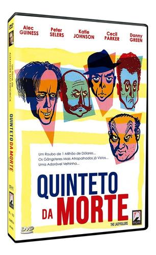 Quinteto Da Morte - Dvd - Alec Guinness Peter Sellers Novo | Mercado Livre
