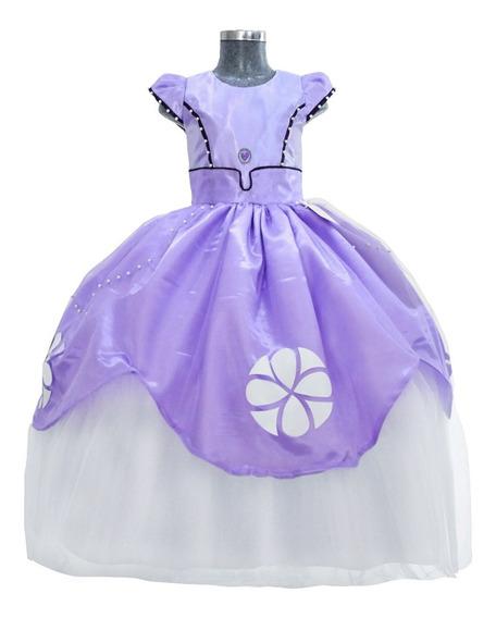 Vestido De Niña Modelo Princesa Sofi