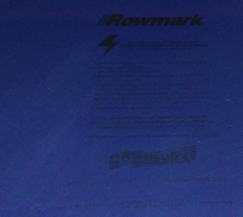 Plástico Bicapa Laserable Rowmark Fusiongrafix 123x61cm Gnab