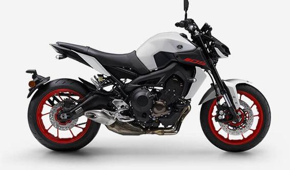Mt 09 Abs 2020 Cinza Yamaha