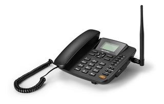 Telefone Celular Rural Com Internet 3g Sem Fio Chip Fixo +nf