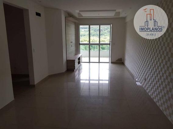 Apartamento Com 3 Dormitórios À Venda, 125 M² Por R$ 610.000 - Canto Do Forte - Praia Grande/sp - Ap11348